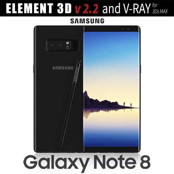 Samsung Galaxy Note 8 Midnight Black