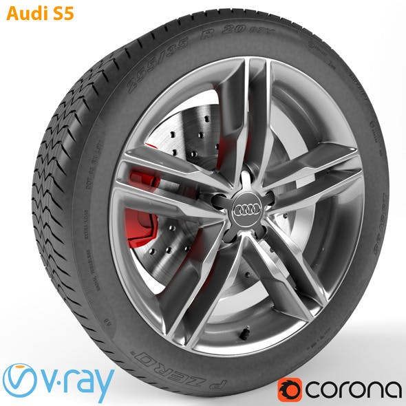 Audi S5 Wheel