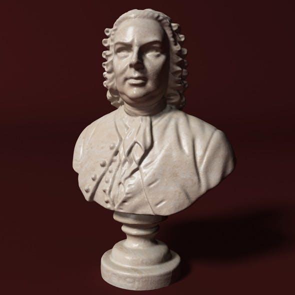 Bach Bust