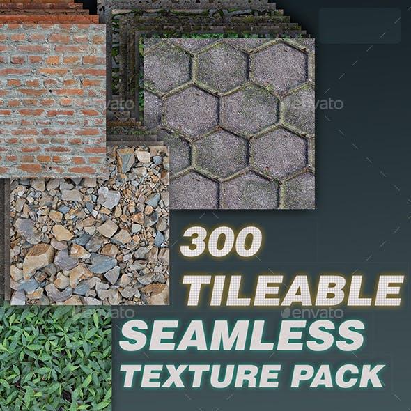 300 Tileable Textures in a Single Bundle