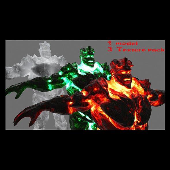 devil set - 3DOcean Item for Sale
