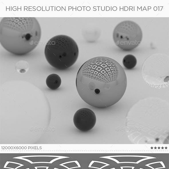 High Resolution Photo Studio HDRi Map 017