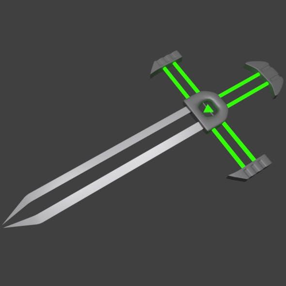Sci-Fi Fantasy Sword