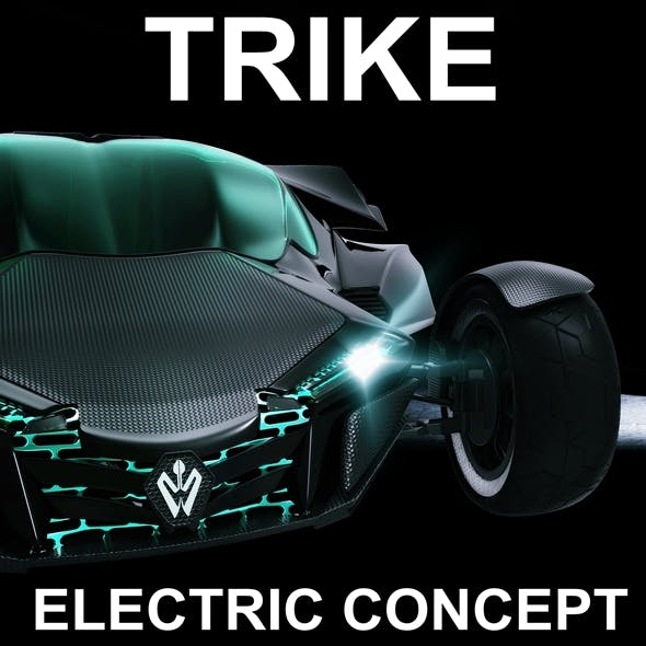 TRIKE EFA CONCEPT - 3DOcean Item for Sale