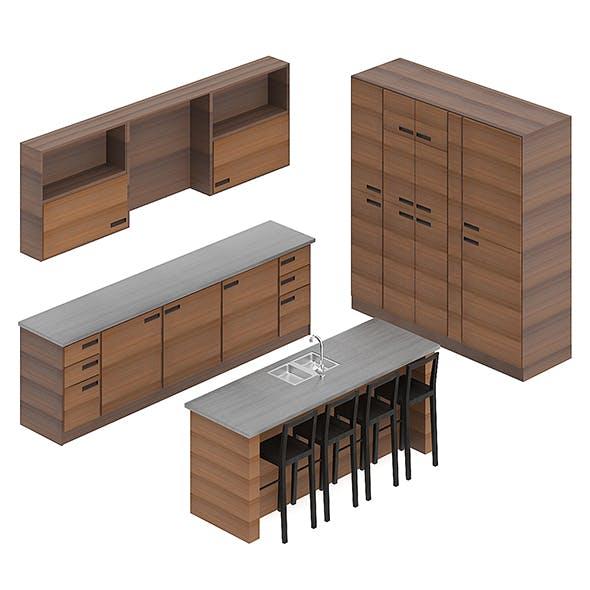 Kitchen Furniture Set 3