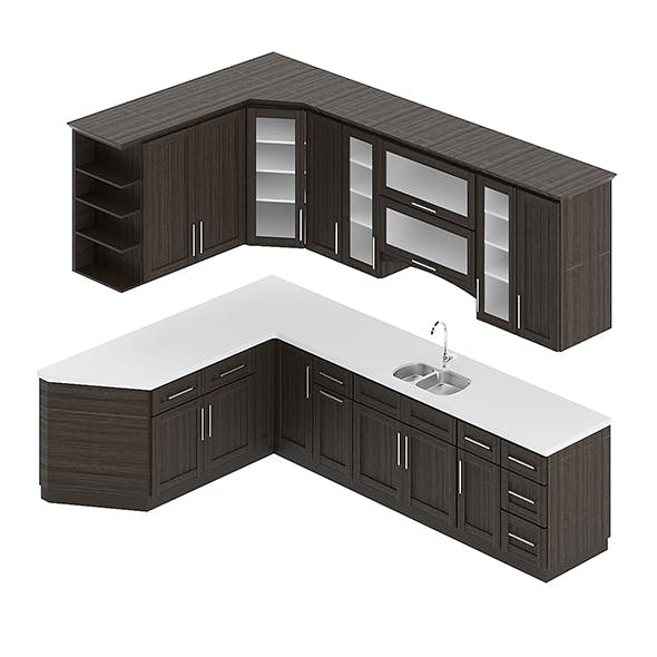 Kitchen Furniture Set 7 - 3DOcean Item for Sale