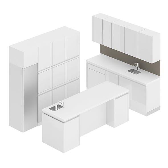 Kitchen Furniture Set 8 - 3DOcean Item for Sale