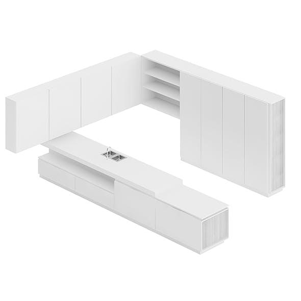 Kitchen Furniture Set 10 - 3DOcean Item for Sale