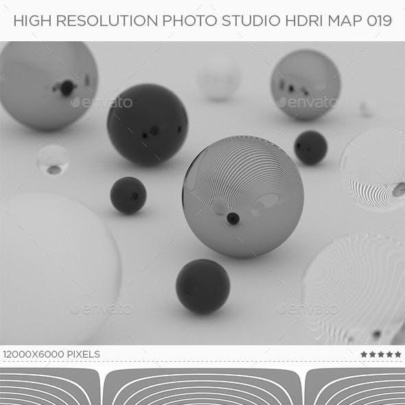 High Resolution Photo Studio HDRi Map 019