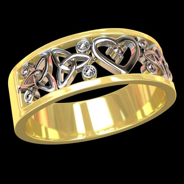 Wedding ring 2 - 3DOcean Item for Sale