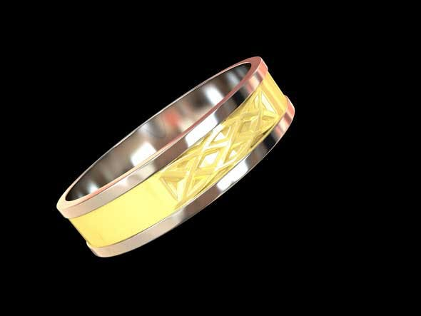 wedding ring 03 - 3DOcean Item for Sale