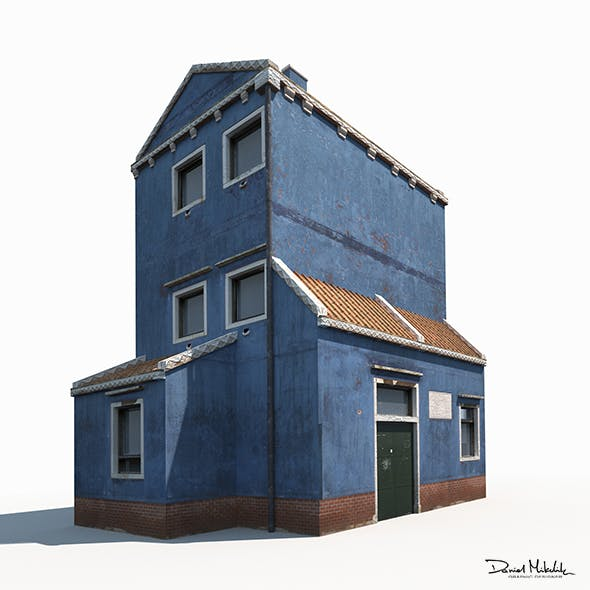 Old Building 185 Low Poly - 3DOcean Item for Sale