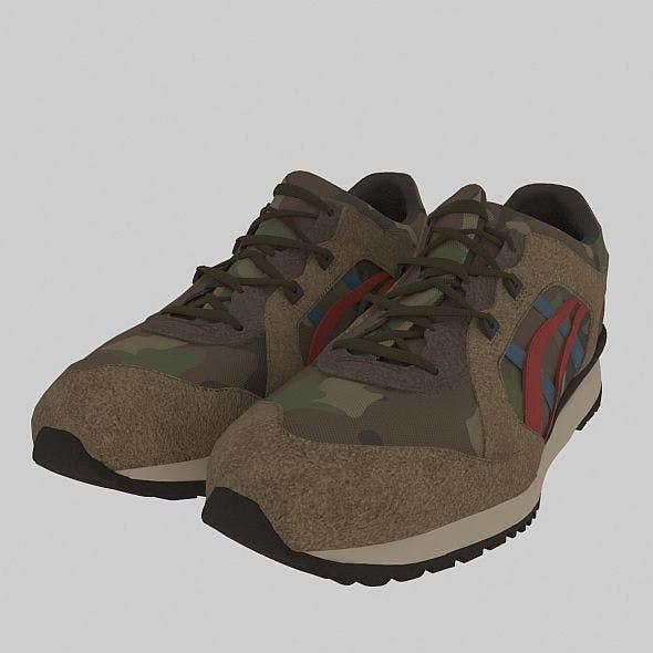asics sport shoes - 3DOcean Item for Sale