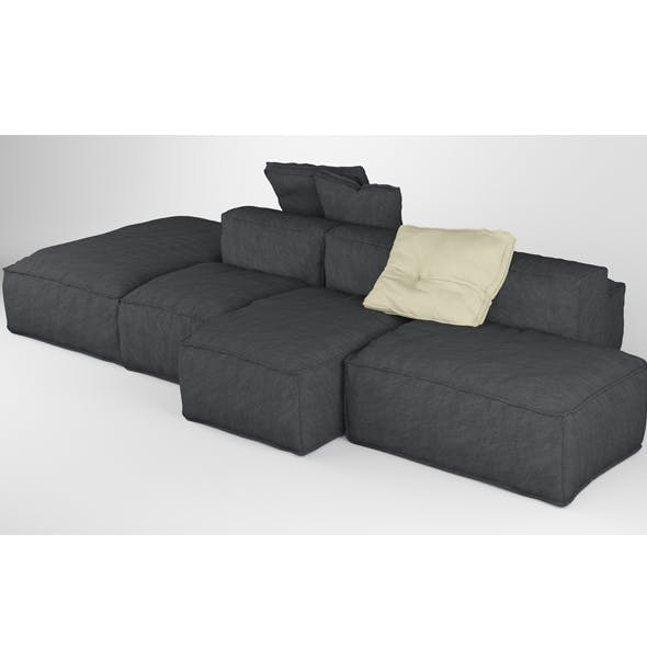 Bonaldo Peanut B 01 Pillows - 3DOcean Item for Sale