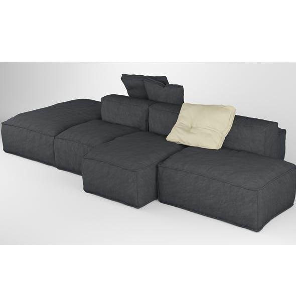 Bonaldo Peanut B 01 Pillows