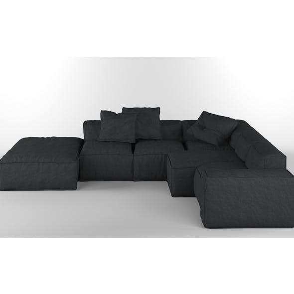 Bonaldo Peanut B 02 Pillows - 3DOcean Item for Sale