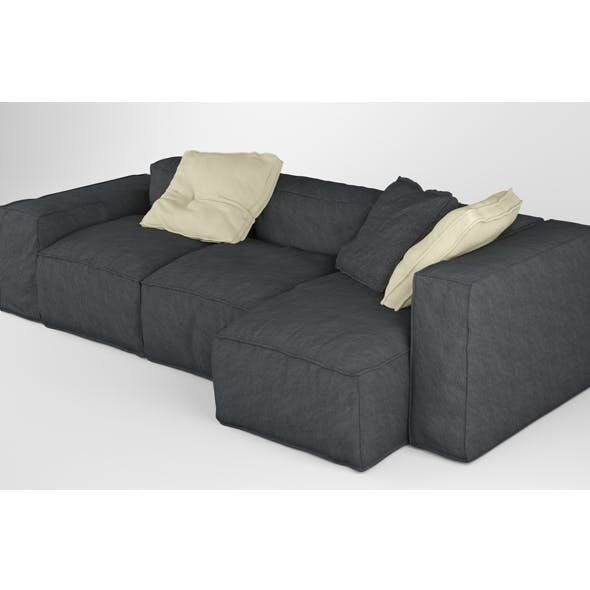 Bonaldo Peanut B 03 Pillows - 3DOcean Item for Sale