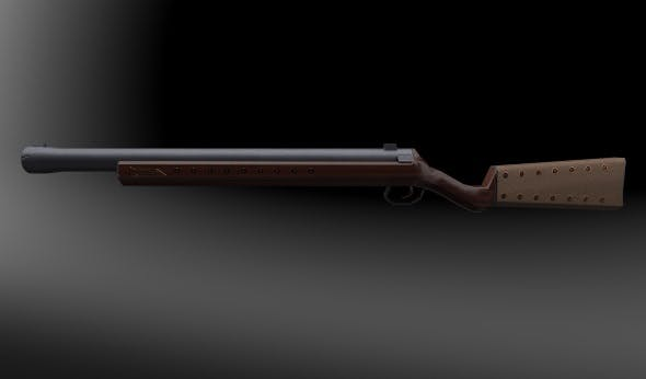 Musket / boomstick - 3DOcean Item for Sale