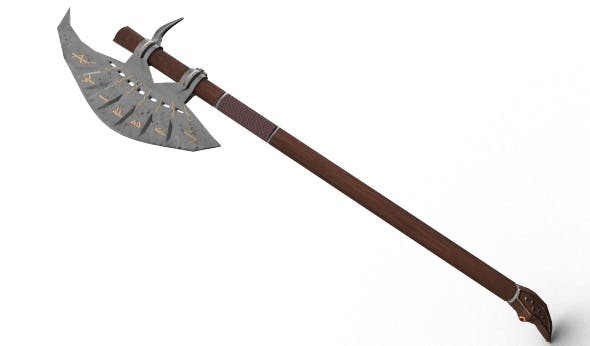 Great axe - 3DOcean Item for Sale