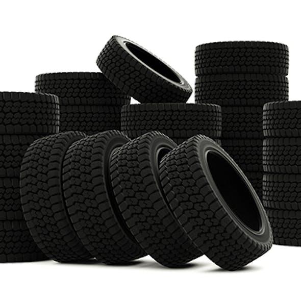 Winter tire well