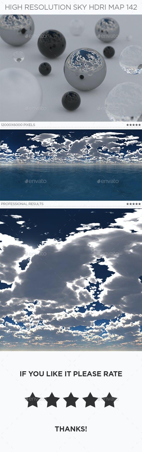 High Resolution Sky HDRi Map 142 - 3DOcean Item for Sale