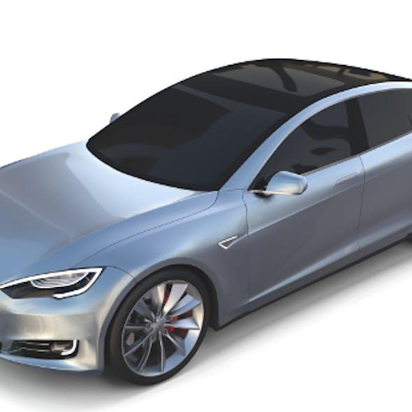 Tesla Model S 2016 Silver