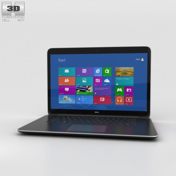 Dell XPS 15 - 3DOcean Item for Sale
