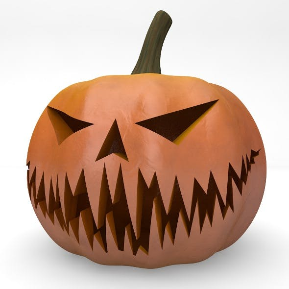 Halloween Pumpkin Element 3D
