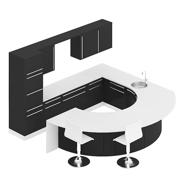 Kitchen Furniture Set 12 - 3DOcean Item for Sale