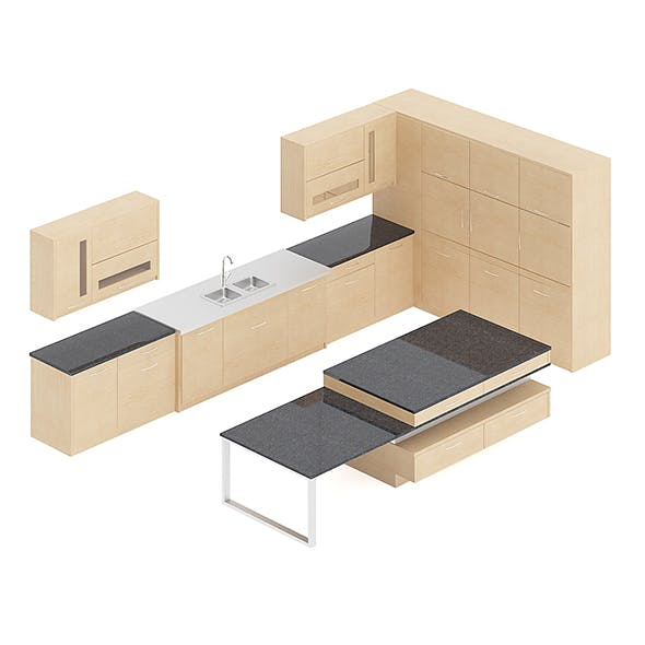 Kitchen Furniture Set 15
