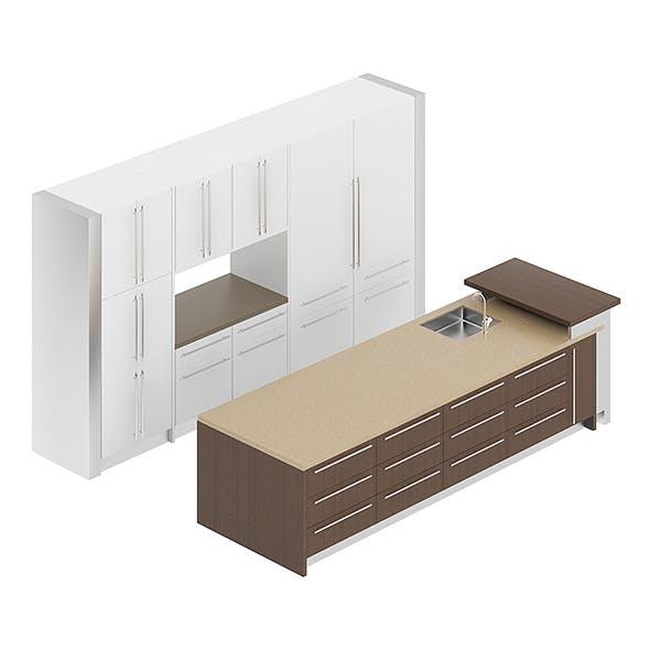 Kitchen Furniture Set 18 - 3DOcean Item for Sale