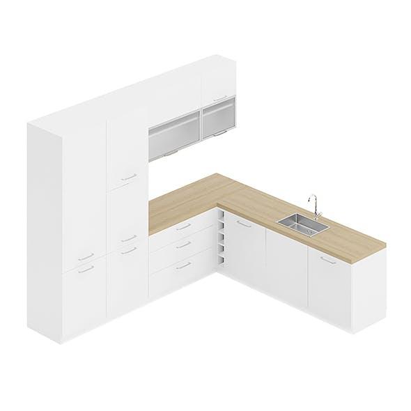 Kitchen Furniture Set 21 - 3DOcean Item for Sale