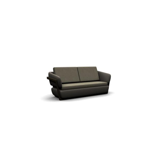 Modern styled couch