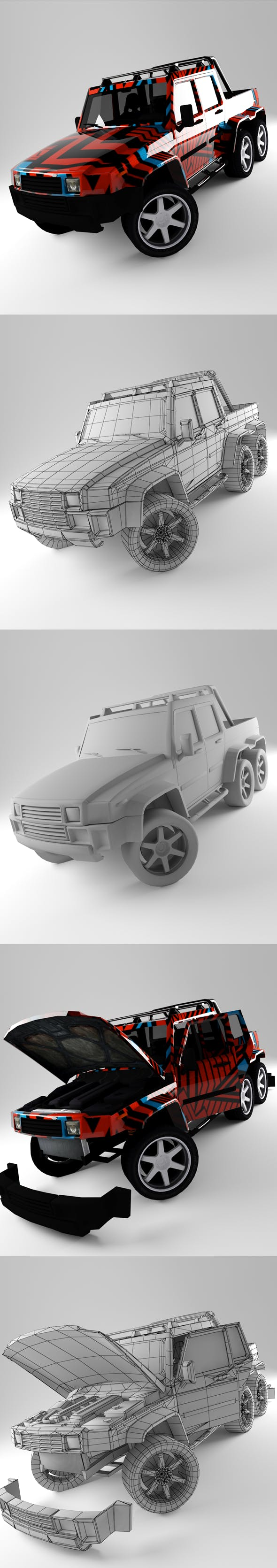H2 - 3DOcean Item for Sale