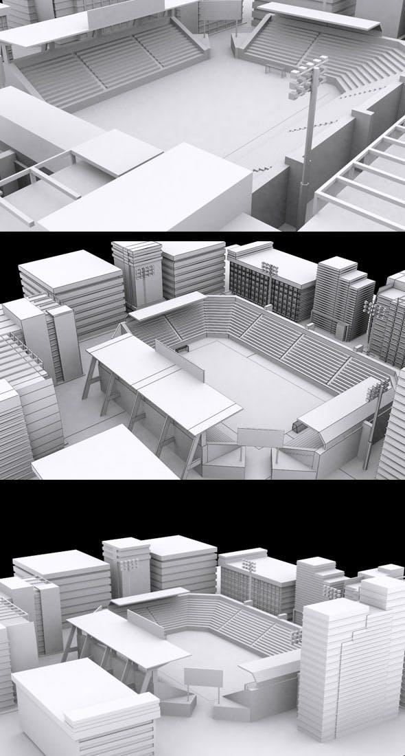 VR Game City - 3DOcean Item for Sale