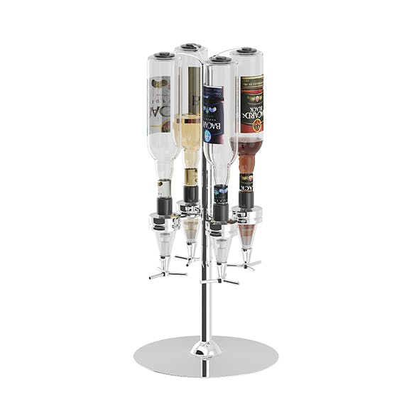 Liquor Dispenser - 3DOcean Item for Sale