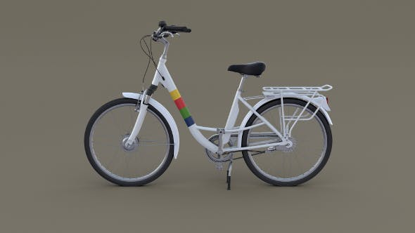 City Bicycle - 3DOcean Item for Sale