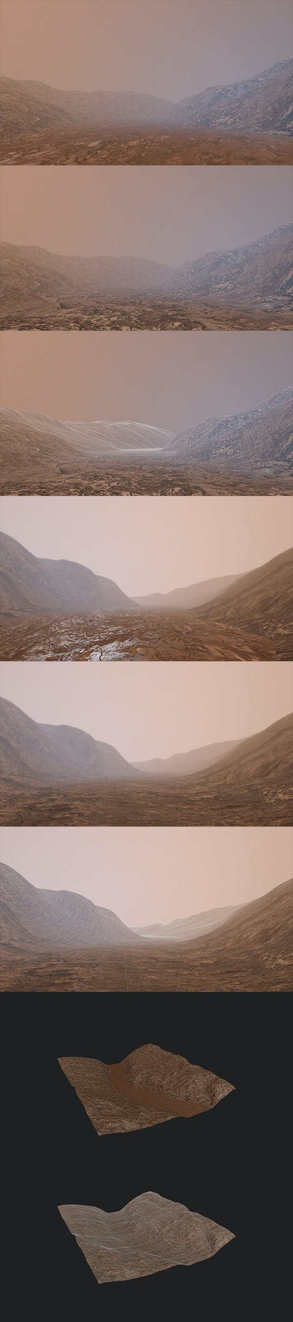 Landscape Mountain - 3DOcean Item for Sale