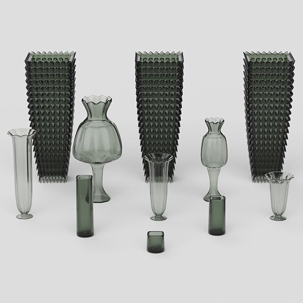 Glass Vase Collection