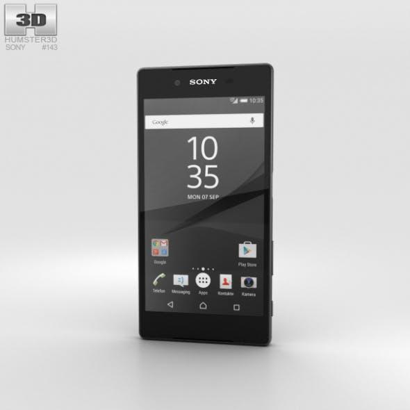 Sony Xperia Z5 Graphite Black - 3DOcean Item for Sale