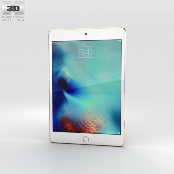 Apple iPad Mini 4 Gold - 3DOcean Item for Sale