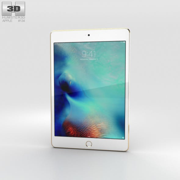 Apple iPad Mini 4 Gold