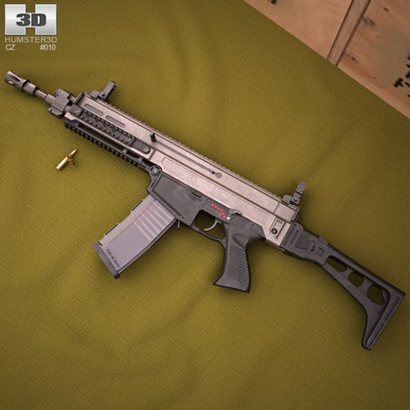 CZ 805 BREN - 3DOcean Item for Sale