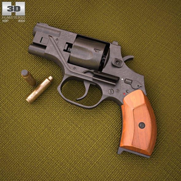 OTs-38 Stechkin silent revolver