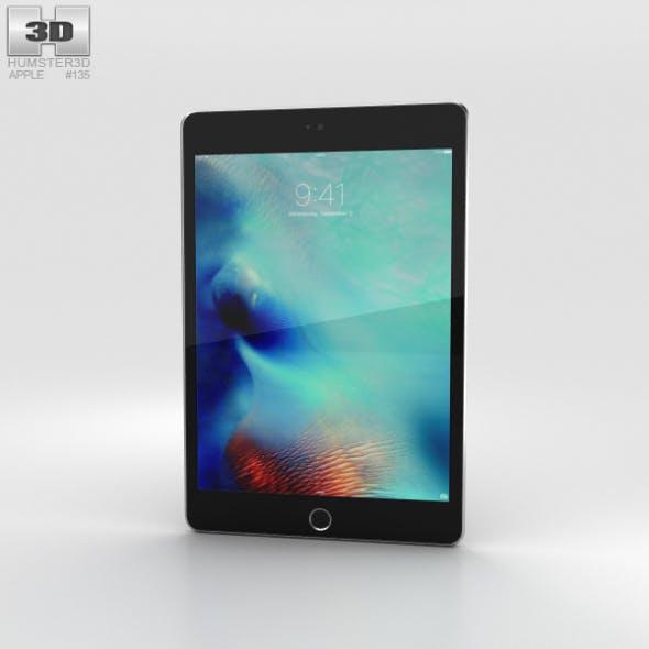 Apple iPad Mini 4 Space Gray - 3DOcean Item for Sale