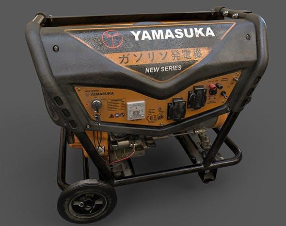 Old Power Generator - 3DOcean Item for Sale
