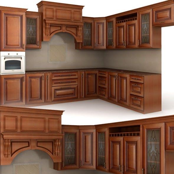 Classic cusine (kitchen furniture)
