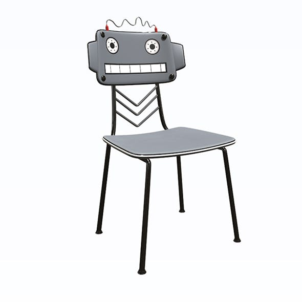 Robot Chair - 3DOcean Item for Sale