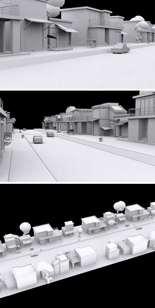 Vr City Vol 3 - 3DOcean Item for Sale