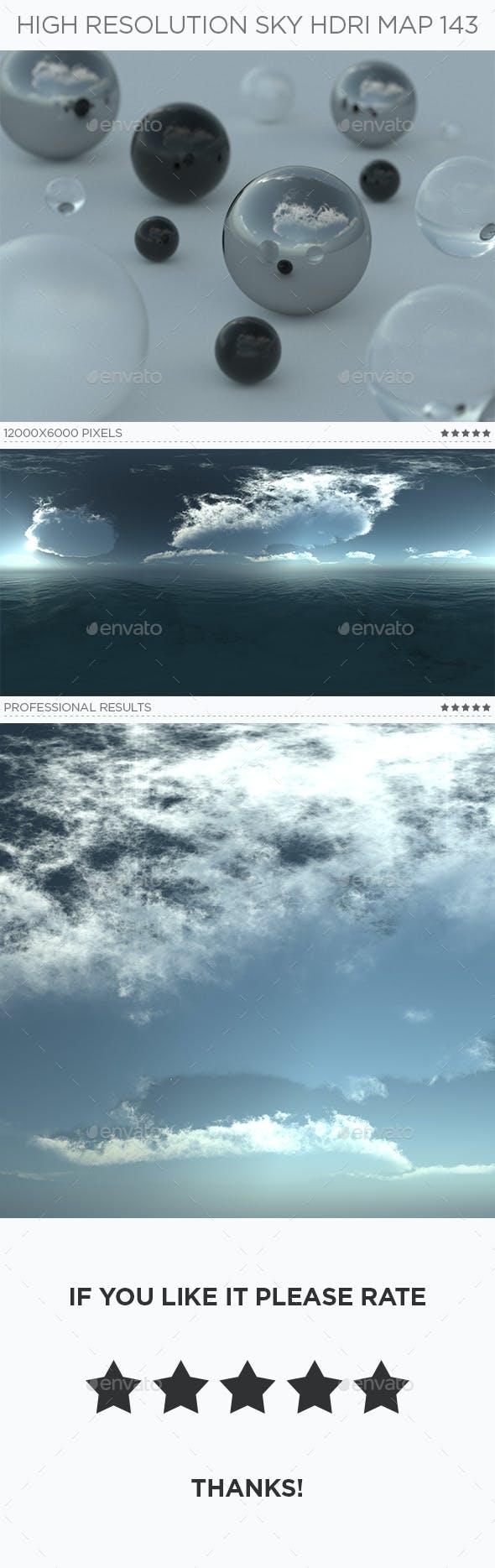 High Resolution Sky HDRi Map 143 - 3DOcean Item for Sale